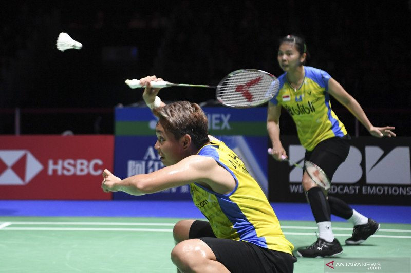 Ganda putri Indonesia Greysia/Apriyani konsentrasi penuh di semifinal Chinese Taipei Open