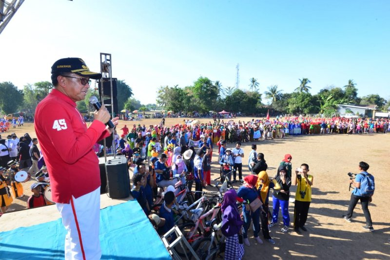 Gubernur Sulsel lepas gerak jalan Juang 2019