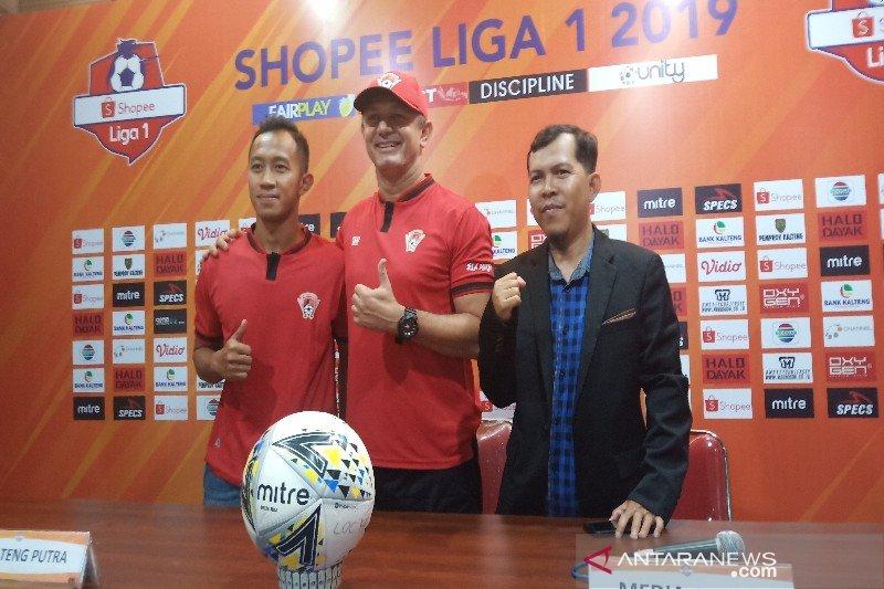 Menjamu Bhayangkara FC, Kalteng Putra optimistis raih poin penuh