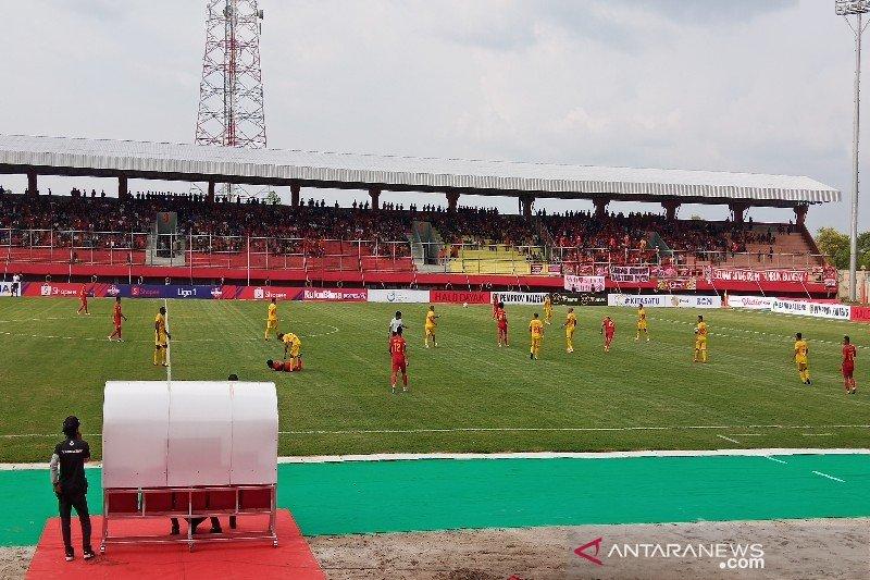 Kalteng Putra unggul sementara lawan Bhayangkara FC 3-2
