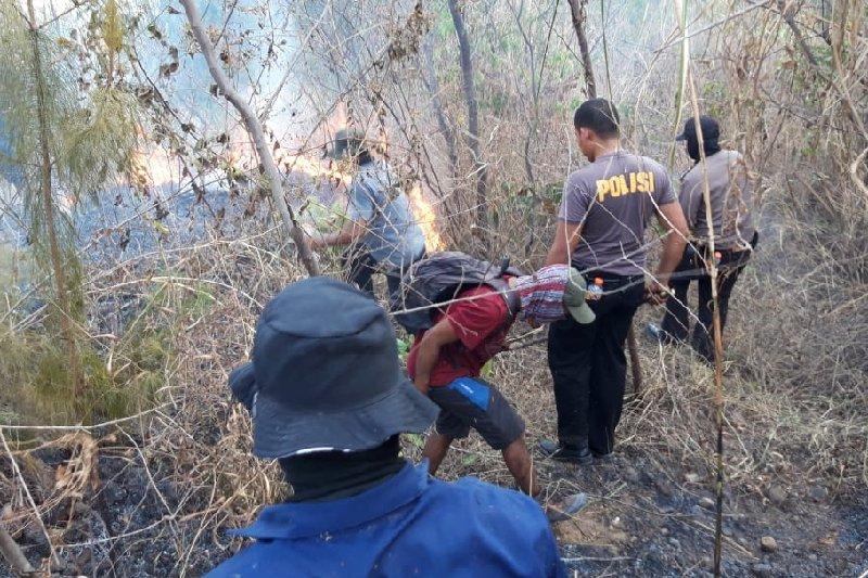 Jalur wisata pendakian Gunung Guntur ditutup akibat kebakaran hutan