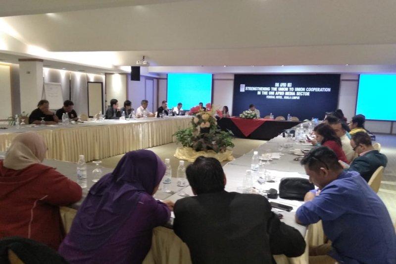 Serikat Pekerja media negara Asia bertemu bahas dampak digitalisasi