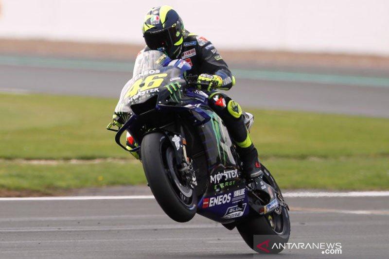 Rossi di baris terdepan, Yamaha obati kerinduan