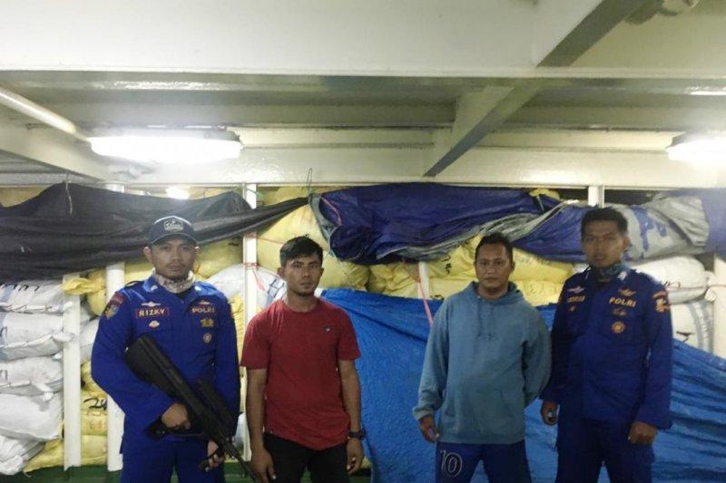 Ditpolair tangkap kapal membawa 1.000 karung pakaian bekas di Nunukan