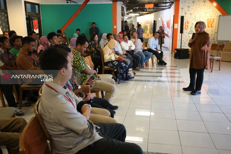 Komunitas muda Surabaya didorong bersinergi hadapi Industri 4.0