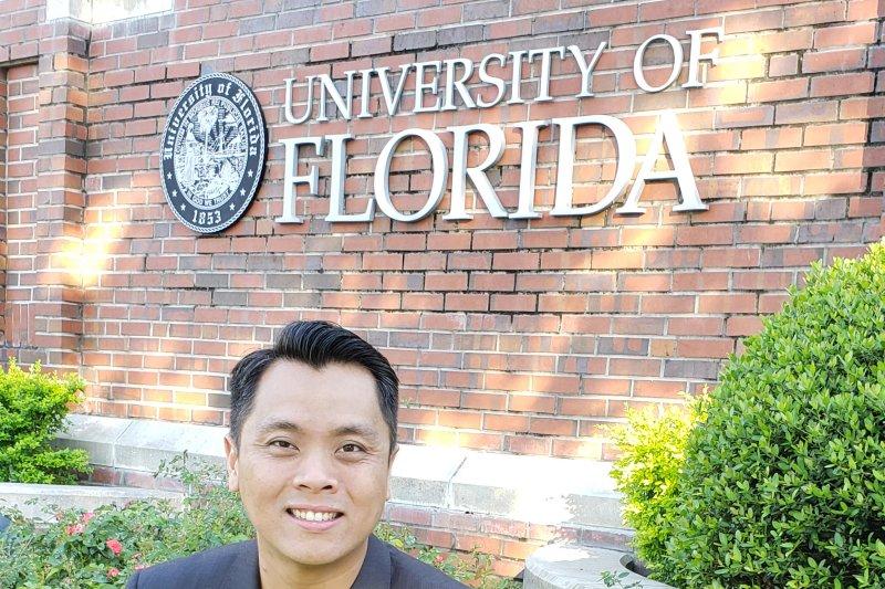 Markus Santoso, pakar AR/VR asal Indonesia yang berkiprah di University of Florida AS