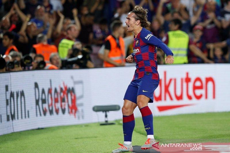Griezmann sumbang dua gol, antar Barcelona menang 5-2 atas Betis