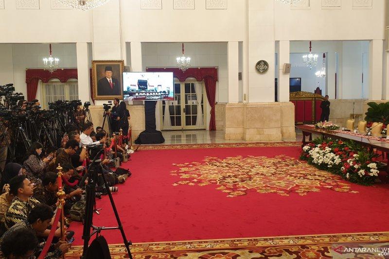 Pemerintah akan beri keterangan pers terkait calon ibu kota