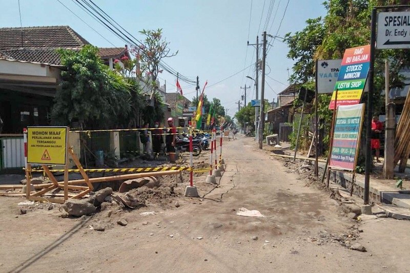 Kelanjutan proyek drainase Soepomo Yogyakarta menunggu konsultasi KPK
