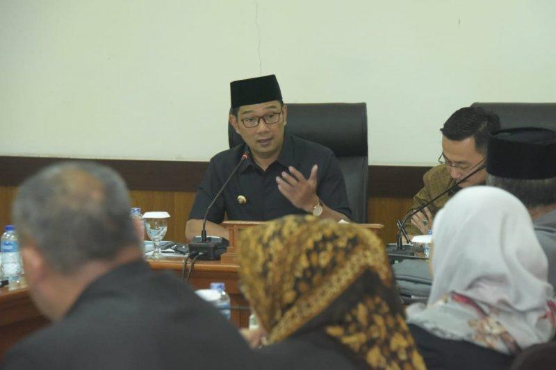 Ridwan Kamil: Perda RTRW masuk tahap akhir pembahasan