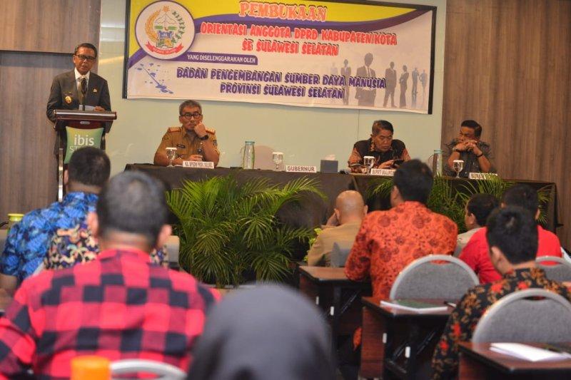 Gubernur Sulsel : legislatif Jangan hanya berharap dari APBD