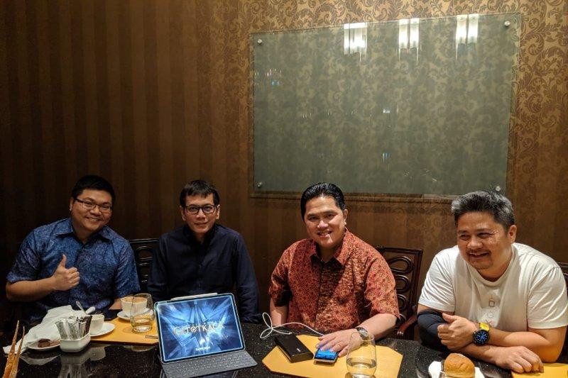 Erick Thohir dan Wishnutama gabung di Jagad Satria Dewa