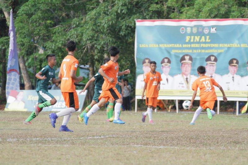 Liga Desa Nusantara di Sumsel kesempatan kembangkan sepak bola