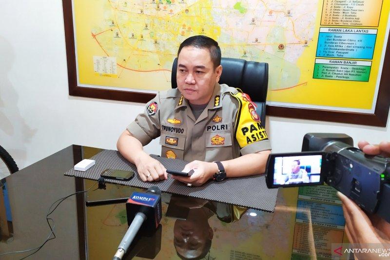 Tambahan pasal tersangka penyebab polisi terbakar tergantung kejaksaan