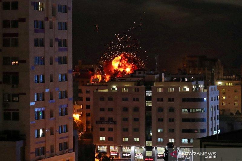 Serangan udara Israel tewaskan seorang gerilyawan Palestina