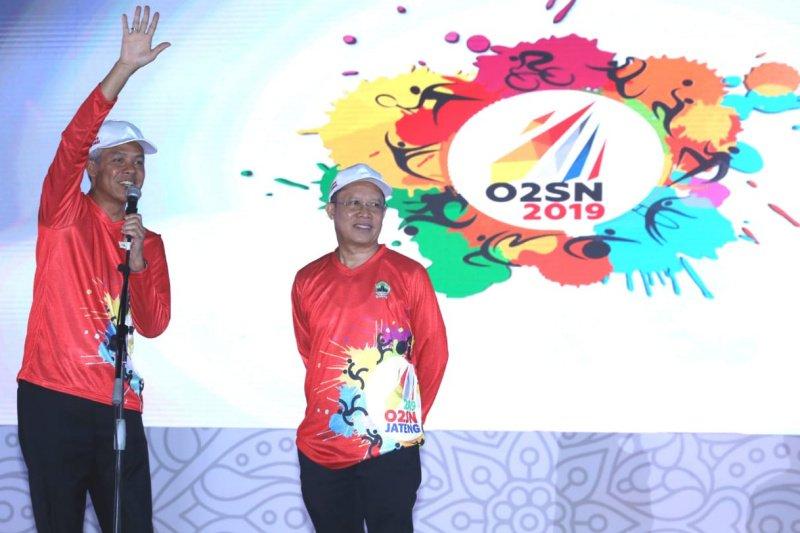 Ganjar berharap O2SN jadi ajang silaturahmi anak bangsa