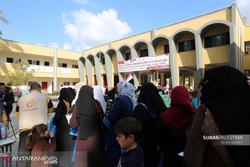 Sembako dari Indonesia untuk Palestina, cerita dari Gaza