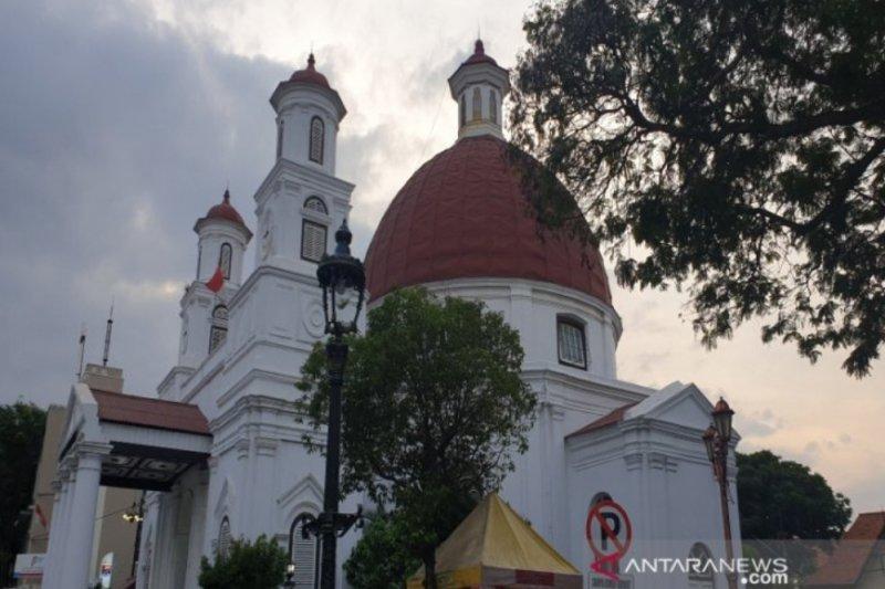 Penataan Kawasan Kota Lama Semarang tahap I tuntas