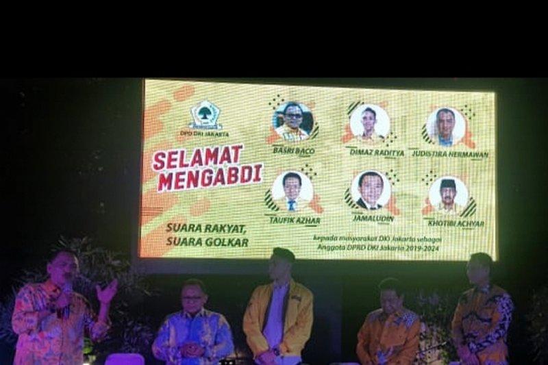 Golkar minta anggota DPRD DKI perjuangkan kepentingan rakyat