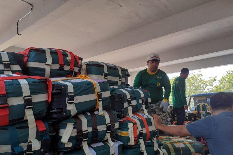 4.029 haji Debarkasi Batam tiba di Tanah Air