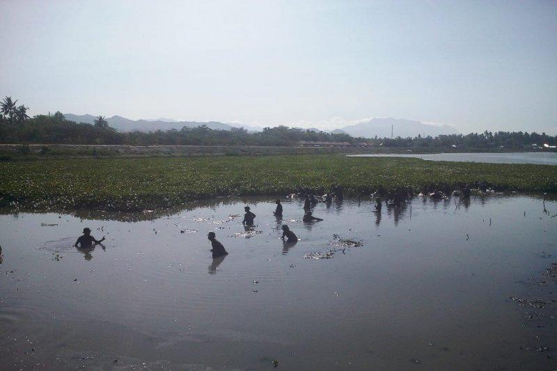 Korem 133/Nani Wartabone Gorontalo lakukan bersih Danau Limboto