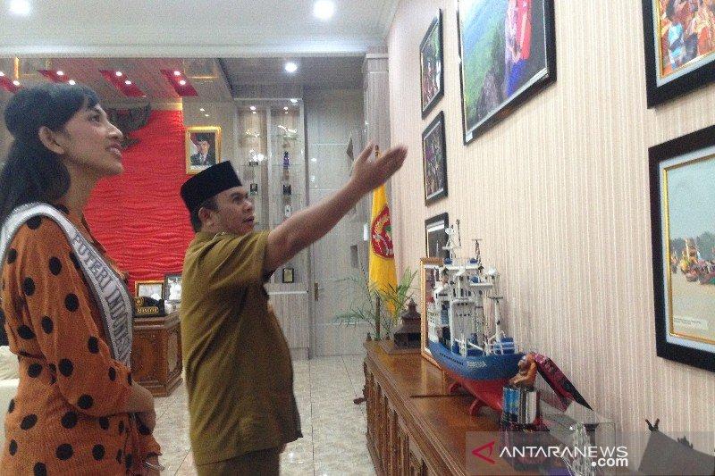 Destinasi wisata Kobar tuai pujian dari Puteri Indonesia Kalimantan Tengah