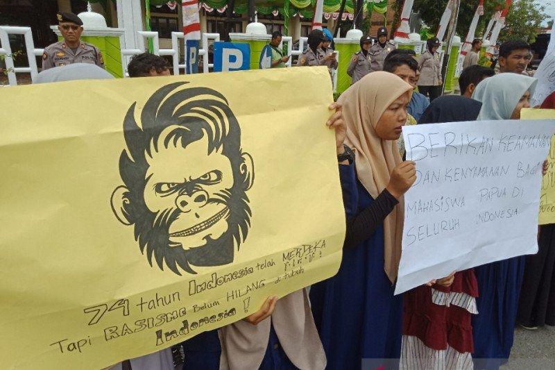 Mahasiswa Aceh Barat desak pelaku persekusi mahasiswa Papua ditangkap