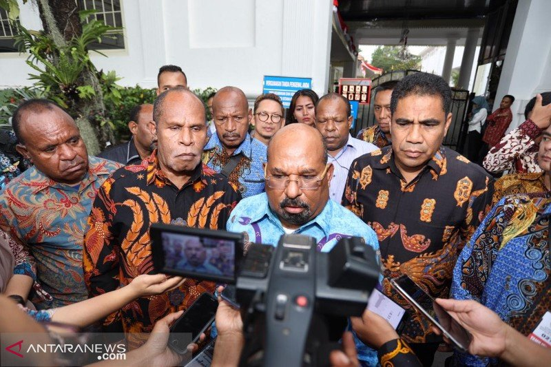 Gubernur : Persiapan PON XX Papua capai 50 persen