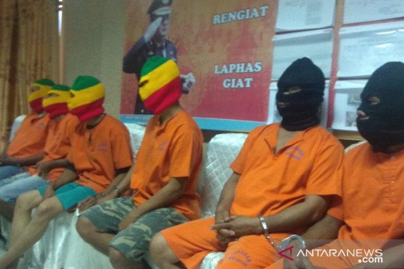 Hingga Agustus, Polres Bintan telah amankan delapan tersangka pelaku Karhutla