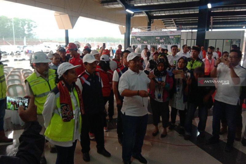 Menteri BUMN targetkan ruas Terbanggi Besar-Kayu Agung selesai akhir September