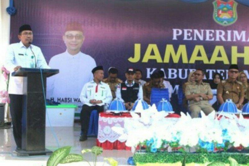 269  haji tiba di Kabupaten Mamuju