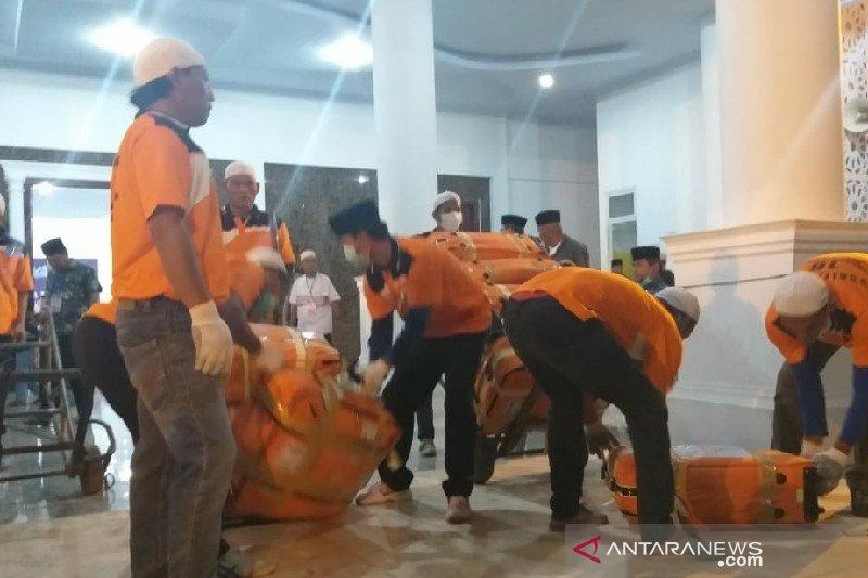 Tujuh jamaah haji gabung ke Kloter 4 Debarkasi Medan