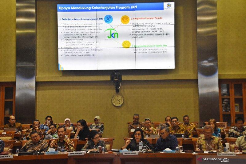 Pemerintah naikkan target penerimaan BPJS Kesehatan dari iuran peserta