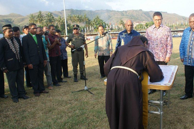 Kabupaten Jayapura sebagai Zona Integritas Kerukunan Hidup Umat Beragama