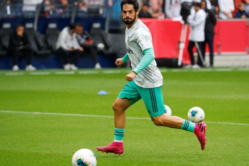 Gelandang Madrid Isco memperparah prahara cidera Real Madrid