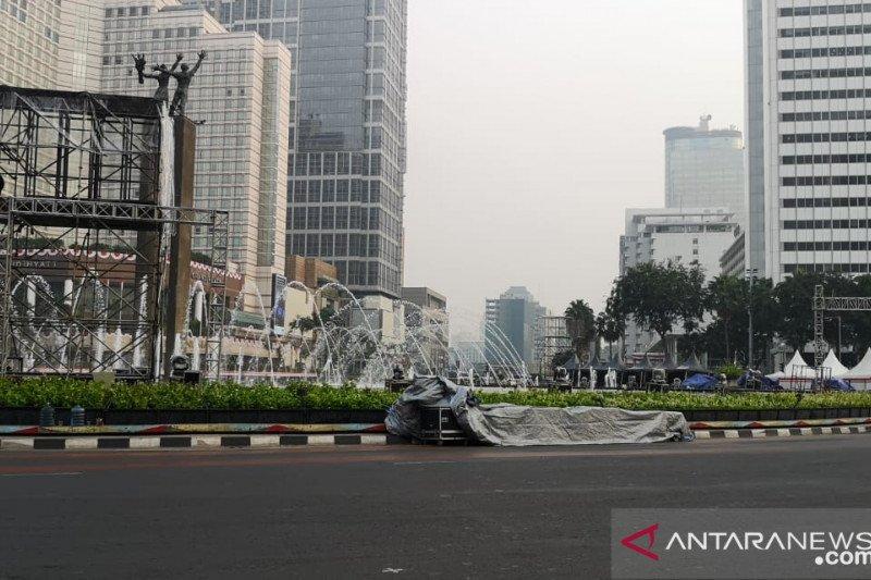 Jalan Merdeka Barat-Bundaran HI ditutup saat Jakarta Muharram Festival