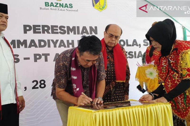 AEON-Baznas pulihkan SMK Muhammadiyah Marawola-Sigi pascagempa