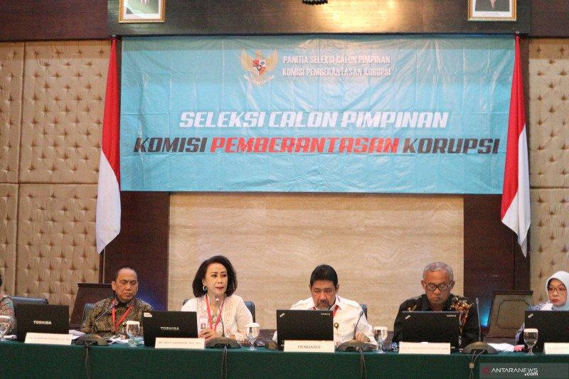 Hari ini pansel akan uji 6 calon pimpinan KPK 2019-2023