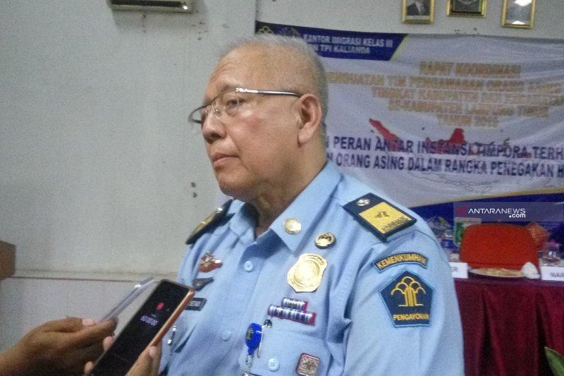 Kantor Imigrasi Lampung beri penguatan kepada tim pengawasan orang asing