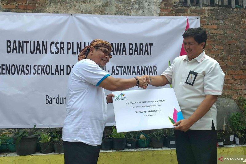 PLN UP2B Jabar salurkan CSR renovasi SD di Bandung