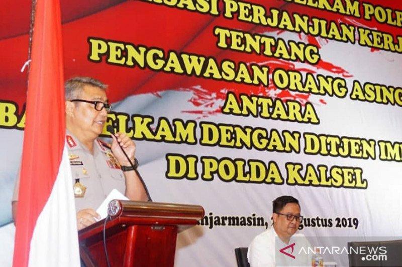 Imigrasi dan Polri tingkatkan sinergi pengawasan WNA