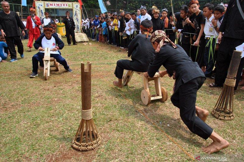 Pekan Kebudayaan Nasional akan suguhkan permainan tradisional