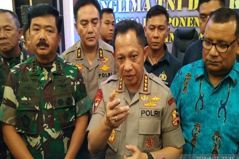Kapolri ajak semua pihak jaga keamanan Papua
