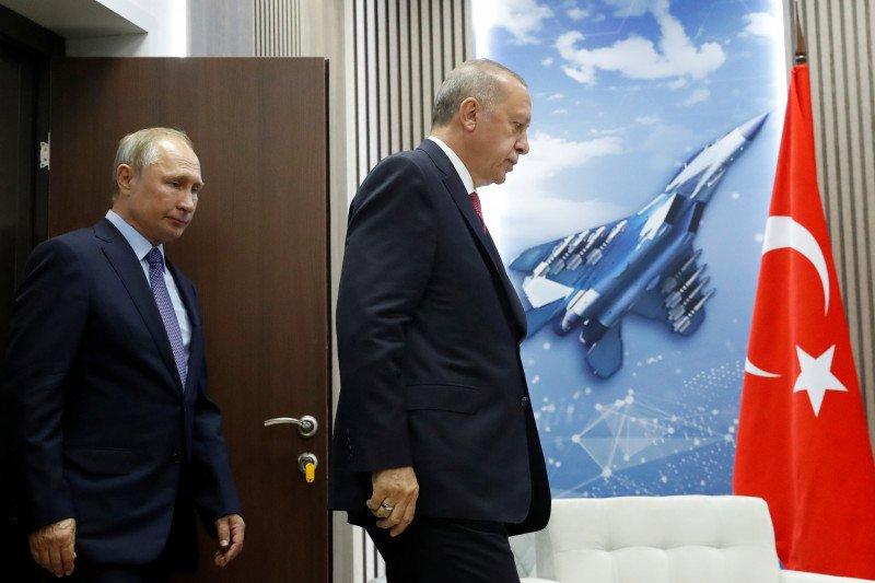 Rusia hindari bentrok dengan tentara Turki di Suriah