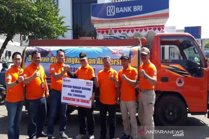 Daerah kekeringan di Temanggung peroleh bantuan air bersih dari BRI