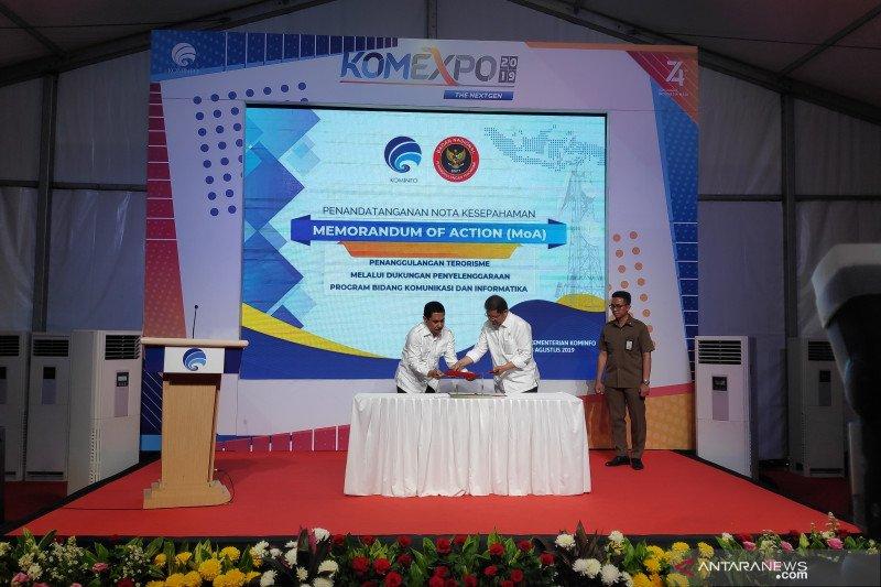 Kominfo-BNPT sepakati kerja sama berantas terorisme