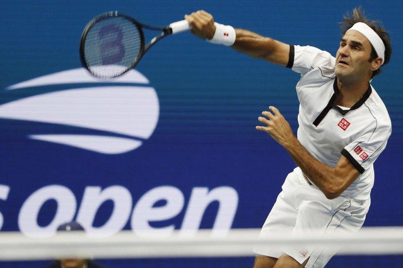 Federer kalahkan Goffin raih  perempat final US Open