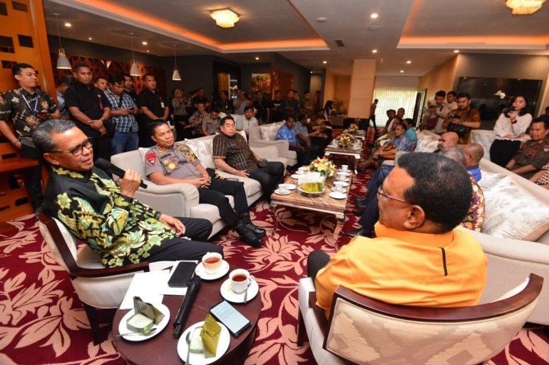 Majelis Rakyat Papua kunjungi Sulawesi Selatan lihat kondisi warganya