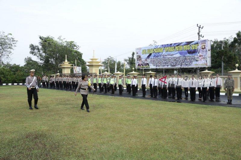 Polres Ogan Komering Ulu  gelar apel pasukan Operasi Patuh Musi 2019