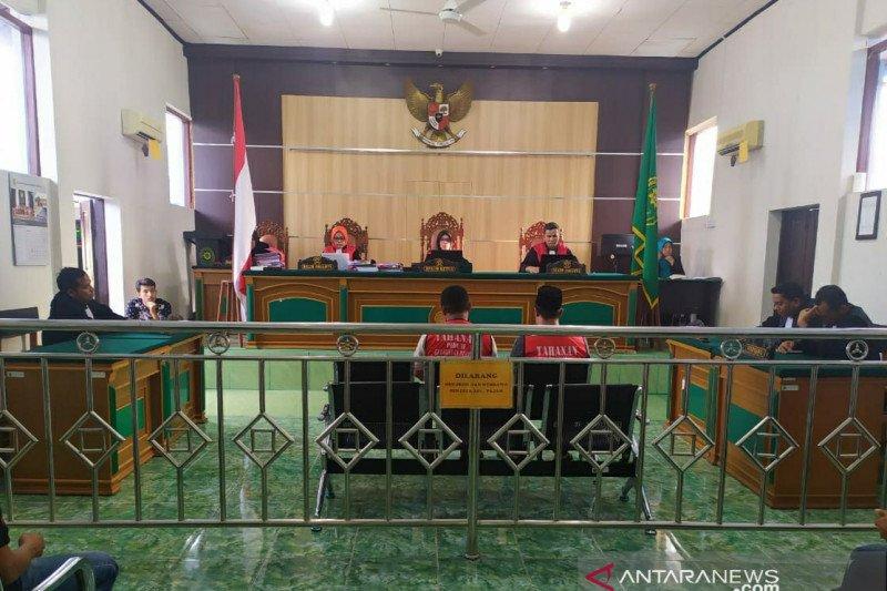 Hakim vonis hukuman mati tiga terdakwa 37 kilogram sabu-sabu Bengkalis